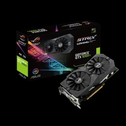 VGA Asus PCIe NVIDIA GTX 1050 Ti 4GB GDDR5 - STRIX-GTX1050TI-4G-GAMING