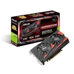 VGA Asus PCIe NVIDIA GTX 1050 Ti 4GB GDDR5 - EX-GTX1050TI-O4G