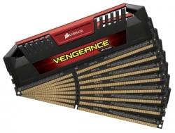 RAM Corsair Vengeance Pro DDR3 2400MHz / 64GB KIT (8x8GB) - Red