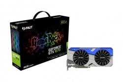 VGA Palit PCIe NVIDIA GTX 1070 8GB GDDR5 - GeForce GTX 1070 GameRock