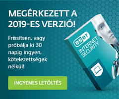 Eset Internet Security 2019-es verzió!